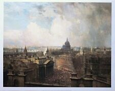 Heart of the Empire - Neils Moiler Lund - vintage London poster - 60cmx75cm