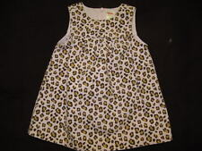 Gymboree Kitty Glamour Pink Leopard Print Jumper Dress, 12-18 mos.