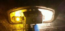 2x 5 SMD LED 233 BA9S T4W BAYONET CAP 360 HID YELLOW/AMBER SIDE LIGHT BULB