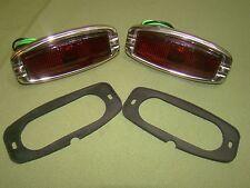 1942 1941 chevy car taillight assemblies 1946 1947 1948 41 42 46 glass lens
