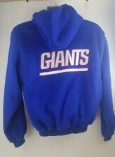 863c6d8d7 New ListingNew York Giants Starter Hoodie Sweater Blue NFL Mens Size Medium  Very Soft