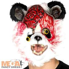 Zombie Panda Masque Déguisement Halloween Animal Gory adulte Costume Accessoire