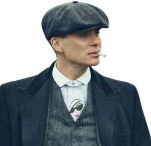 Peaky Blinders Cap Tommy Shelby Newsboy Baker Boy Gatsby Style Wool Cheap