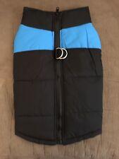 Dog Winter Jacket Black/Blue Size XL