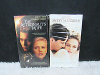Lot of 2 Charlize Theron VHS Tapes, Sweet November and The Astronaut's Wife