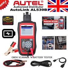 Autel Autolink AL539B Car Engine Code Reader Electrical Battery Tester Scanner
