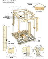 DIY Carpentry Woodwork PDF 5 Dvd 2 CD Survival magazine Guide Outdoor Furniture