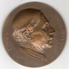 New ListingUndated Belgian Medal to Honor the French Poet Paul Valery, by Fisch
