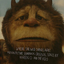 Where the Wild Things Are (2009) Soundtrack CD by Karen O. & Carter Burwell