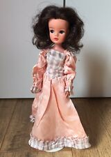 "Sindy Doll Fashion Outfit ""Elegance"" - 1985 ""Pretty Peach"" Dress & Shoes"