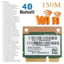 Bluetooth 4.0 Wifi Wireless Mini PCI-E Card For HP QCWB335 AR9565 SPS 733476-001