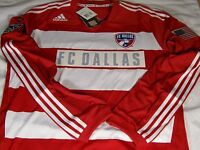 bd74056b976 New Adidas Formotion FC Dallas Home Away SS & LS Authentic Soccer Jersey  $110