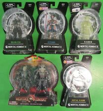 Mortal Kombat X Action Figure Lot Of 5 Quan Chi Raiden Kitana Kotal Kahn Reptile