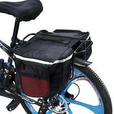 Waterproof Riding Bike Bicycle Pannier Rear Seat Bag Pouch With Reflect Strip MP