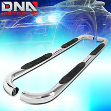 """FOR 2009-2014 FORD F150 SUPERCAB EXTENDED 3""""STAINLESS STEEL NERF BAR STEP BOARDS"""
