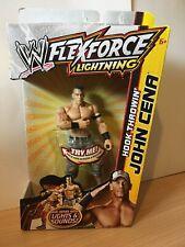 """WWE FLEXFORCE LIGHTNING HOOK THROWIN' JOHN CENA 7"""" WWE WRESTLING FIGURE NEW!"""