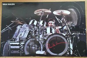 Van Halen Drummer Original 1983 Poster 23 x 35