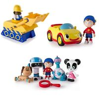 Various Noddy & Friends Toy Sets - 5 Figure Pack Bulldozer OR Car Toy NEW