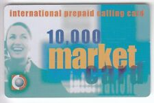 EUROPE  TELECARTE / PHONECARD .. ITALIE 10.000L IPC FILLE SEXY MARKET +N° NEUVE