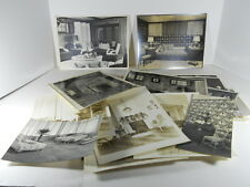 20 ORIGINAL 1930S HIGH STYLE INTERIOR DESIGN B&W PHOTOS