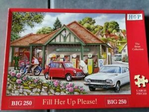 250 Big Piece Jigsaw Puzzle - Fill Her Up Please! - House Of Puzzles HOP