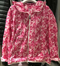 Uniqlo Waterproof Pink Jacket Pocketable Parka Size L Magic For All Disney