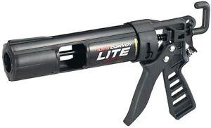 TAJIMA Caulk Gun - 1/10 Gallon(10 oz)Convoy Lite Caulking Tool-Ultra Lightweight