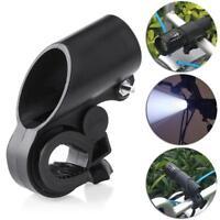 360° Adjustable Bicycle Bike Flashlight Light Bracket Clip Mount Clamp Holder