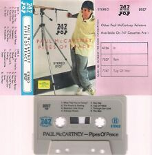 PAUL MCCARTNEY Pipes of peace  UNIQUE RARE VERY DIFFICULT CASSETTE