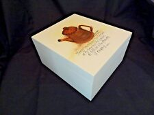 Rhonda Kullberg Hand Painted Lidded Tea Box