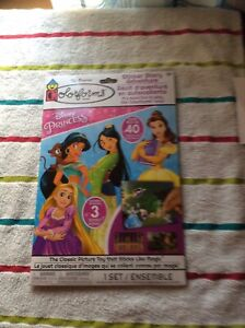 Colorforms Disney Princess 40 Colorforms New And Sealed