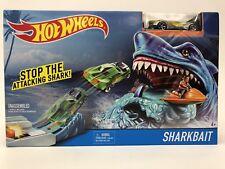 HOT WHEELS SHARKBAIT SHARK BAIT Play Set w/ Exclusive Car NIB
