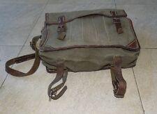 Vintage Military Issued Canvas Shoulder Bag