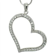 Heart Large Pendant Made With Swarovski Crystal Love New Necklace Jewelry Gift