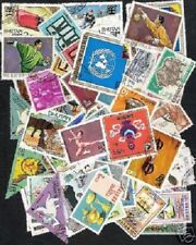 BHUTAN 98 DIFFERENT POSTALLY USED THEMATIC STAMPS COLLECTION CONCORDE SCOUT UN++