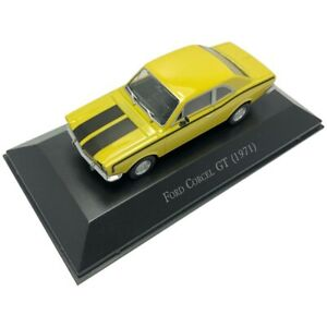 1/43 Classic Ford Corcel GT 1971 Vintage Sports Car Model Diecast Vehicle Gift