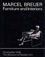 Marcel BREUER Furniture and Interiors Bauhaus Thonet Isokon Modernist Design HB!