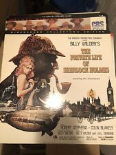 The private life of Sherlock Holmes Laserdisc LD englisch