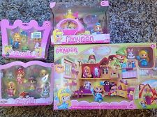 PINYPON Tales House Playset, conte de fées transport et deux Figure Packs