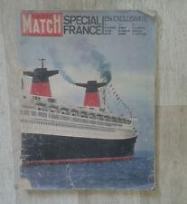 Paris Match. N° 663. 1961. Spécial France. Sans la coupe en colorama.