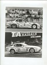 N°9125 / Porsche 944 turbo en course 1984 Werkfoto