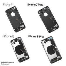 NEW iPhone 7/7 Plus 8/8 Plus Fully Assembled Back Cover Housing with ALL Parts