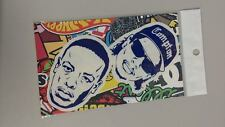 Compton Dr. Dre Easy E vinyl stickers x 2 with stickerbomb pack hip hop rap