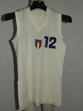 Shirt Maillot Tank Top Basketball Match Worn Italy Italy Women 12 70'S