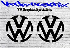 "Volkswagen VW Extra Large 17"" Decal Stickers X2 Transporter T6 T5 T4 Campervan"