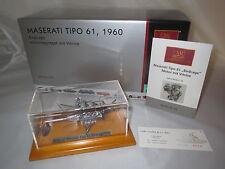 "CMC M - 126  Maserati  Tipo  61  (Birdcage  Motoraggregat)  ""1960""  1:18 OVP !!"