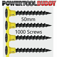 Timco Autofeed Black Phosphate Collated Drywall Screws 50mm 1000 pack CE Cert