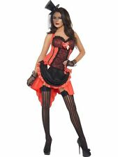 FEVER, LADIES BURLESQUE FANCY DRESS COSTUME, MADAME PEACHES OUTFIT, SIZE 16/18