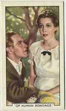 Leslie Howard + Frances Dee 1935 Gallaher Movie Star Tobacco Card #9