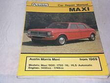 Austin Morris Maxi: Autodata Car Repair Manual from 1969